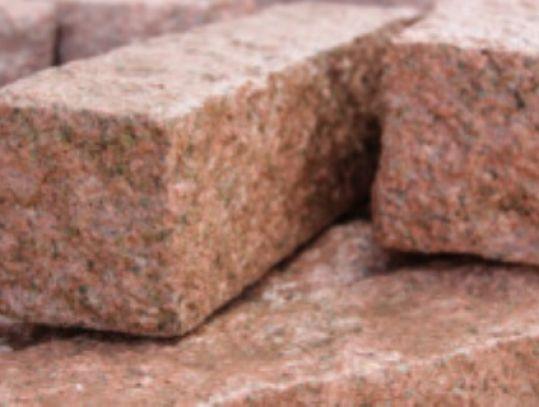 granit palisaden zora rot hst hanse stone. Black Bedroom Furniture Sets. Home Design Ideas